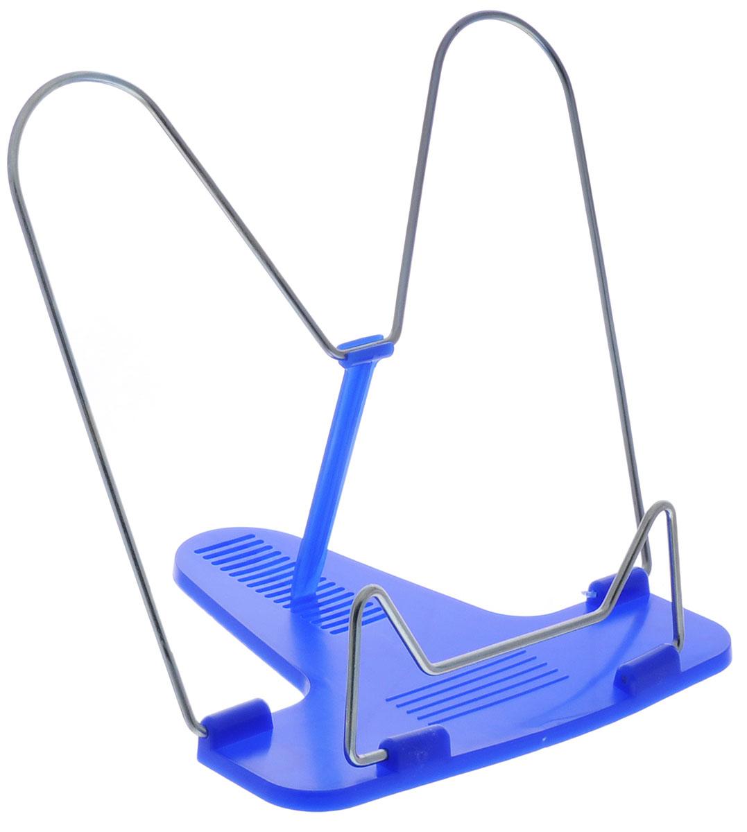 Action! Подставка для книг Fancy цвет синийFBH01_синийКлассическая металлическая подставка для книг Action! Fancy станет незаменимым аксессуаром на столе у школьника или студента. Подставка оснащена упором, благодаря чему она имеет несколько углов наклона.