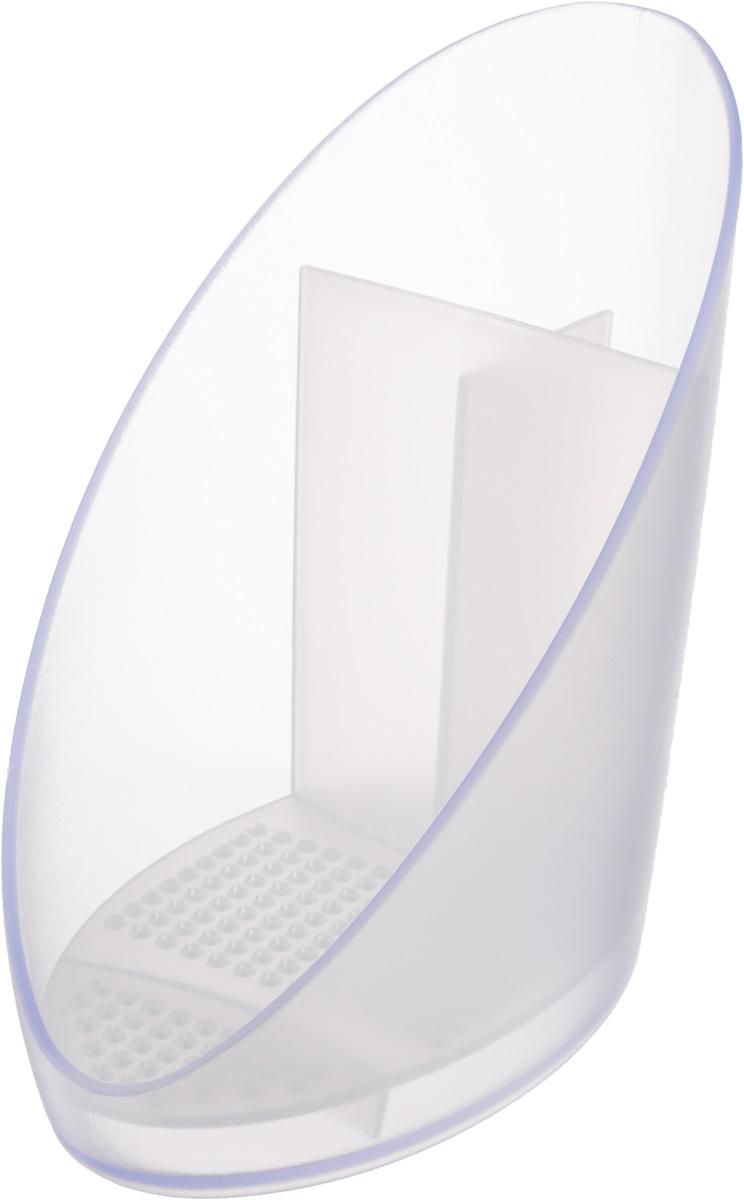 Сушилка для щетки и губки Tescoma Clean Kit900642Сушилка Tescoma Clean Kit выполнена из высококачественного прочного пластика. Отлично подходит для хранения и сушки щетки и губки. Со съемным вкладышем для легкой очистки. Изделие имеет 1 секцию для хранения губки и 2 секции для щеток. Можно мыть в посудомоечной машине.