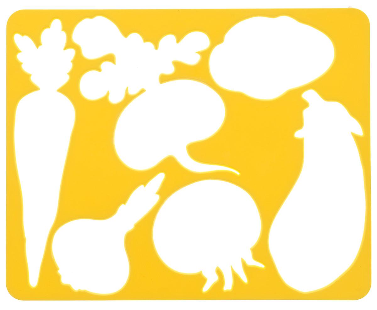 Луч Трафарет прорезной Овощи цвет желтый9С 487-08_желтыйТрафарет Луч Овощи, выполненный из безопасного пластика, предназначен для детского творчества. По трафарету маленький художник сможет нарисовать и отдельные плоды, и композиции из них. Для этого необходимо положить трафарет на лист бумаги, обвести фигуру по контуру и раскрасить по своему вкусу или глядя на цветную картинку-образец. Трафареты предназначены для развития у детей мелкой моторики и зрительно-двигательной координации, навыков художественной композиции и зрительного восприятия.