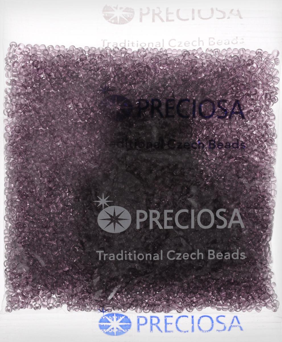 Бисер Preciosa Ассорти, прозрачный, цвет: фиолетовый (13), 10/0, 50 г163142_13_фиолетовыйБисер Preciosa Ассорти, изготовленный из стекла круглой формы, позволит вам своими руками создать оригинальные ожерелья, бусы или браслеты, а также заняться вышиванием. В бисероплетении часто используют бисер разных размеров и цветов. Он идеально подойдет для вышивания на предметах быта и женской одежде. Изготовление украшений - занимательное хобби и реализация творческих способностей рукодельницы, это возможность создания неповторимого индивидуального подарка.