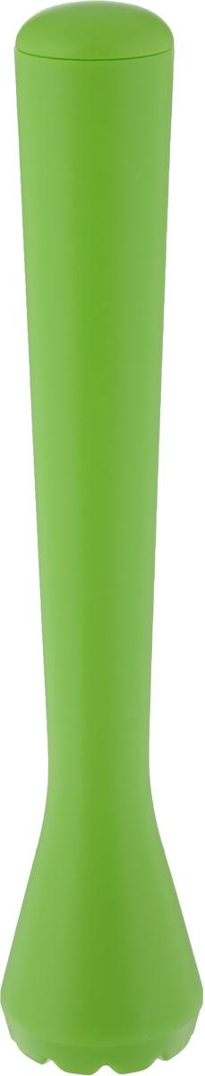 Палочка-толкушка для Мохито и Кайпиринья Tescoma myDRINK, длина 20 см308836Палочка-толкушка Tescoma myDRINK отлично подходит для приготовления Мохито, Кайпиринья и других смешанных напитков, которые требуют измельчения ингредиентов прямо в стакане. Сделана из высококачественного прочного пластика. Можно мыть в посудомоечной машине. Длина палочки-толкушки: 20 см. Диаметр основания: 4 см.