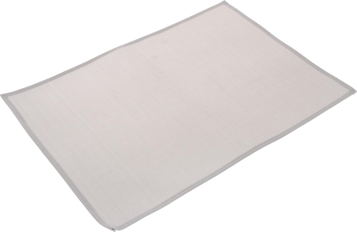 Салфетка сервировочная Tescoma Flair Lite, цвет: серый, 45 х 32 см662032Элегантная салфетка Tescoma Flair Lite, изготовленная из прочного искусственного текстиля, предназначена для сервировки стола. Она служит защитой от царапин и различных следов, а также используется в качестве подставки под горячее. После использования изделие достаточно протереть чистой влажной тканью или промыть под струей воды и высушить. Не мыть в посудомоечной машине, не сушить на батарее. Размер салфетки: 45 х 32 см.