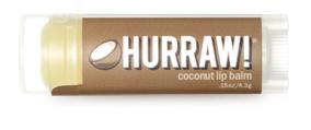 Hurraw! Бальзам для губ Coconut Lip Balm, 4,3 г005045Бальзамы для губ Hurraw! производятся в США на небольшом домашнем производстве. Идея создателей бренда заключалась в том, чтобы разработать поистине идеальный бальзам для губ: натуральный, вегетарианский, произведенный из органических ингредиентов высочайшего качества и не содержащий вредных веществ и искусственных компонентов. Все бальзамы Hurraw! производятся из чистого органического масла, которое добывается путем холодного отжима, что позволяет всем веществам сохранять свои полезные свойства. Помимо этого, приятно знать, что продукция марки Hurraw! не содержит ингредиентов животного происхождения и никогда не тестируется на животных. А еще бальзамы разливаются по флакончикам вручную!