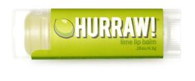 Hurraw! Бальзам для губ Lime Lip Balm, 4,3 г005120Бальзамы для губ Hurraw! производятся в США на небольшом домашнем производстве. Идея создателей бренда заключалась в том, чтобы разработать поистине идеальный бальзам для губ: натуральный, вегетарианский, произведенный из органических ингредиентов высочайшего качества и не содержащий вредных веществ и искусственных компонентов. Все бальзамы Hurraw! производятся из чистого органического масла, которое добывается путем холодного отжима, что позволяет всем веществам сохранять свои полезные свойства. Помимо этого, приятно знать, что продукция марки Hurraw! не содержит ингредиентов животного происхождения и никогда не тестируется на животных. А еще бальзамы разливаются по флакончикам вручную!