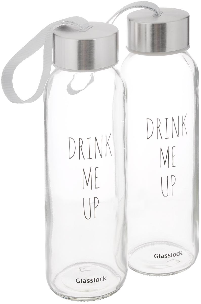 Набор бутылок Glasslock, 240 мл, 2 штIG-716Бутылки Glasslock изготовлены из экологичного кварцевого стекла, без содержания вредных веществ. Кварцевое стекло не впитывает запахи и остатки продуктов даже при длительном хранении и всегда остается идеально прозрачным. Бутылки выполнены в смелом современном дизайне. Гладкая лаконичная форма дополнена позитивными графическими принтами и металлической крышкой с ручкой для удобства подвешивания на сумку или велосипед. Бутылки подходят для использования в морозильной камере, холодильнике и посудомоечной машине. При хранении в морозилке не наполнять бутылку более чем на 70%. Диаметр (по верхнему краю): 3,5 см. Диаметр основания: 5 см. Высота бутылки: 18 см.