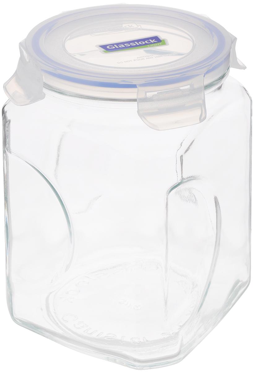 Контейнер для сыпучих продуктов Glasslock, 2 лIP-592 (IG-664)Контейнер Glasslock изготовлен из высококачественного закаленного ударопрочного стекла. Герметичная крышка, выполненная из пластика и снабженная уплотнительной резинкой, надежно закрывается с помощью четырех защелок. Изделие подходит для специй, чая, кофе, круп, сахара и соли и многого другого. Такой контейнер стильно дополнит интерьер кухни и поможет эффективно организовать пространство. Подходит для мытья в посудомоечной машине, хранения в холодильных и морозильных камерах. Диаметр контейнера (по верхнему краю): 11,5 см. Размер контейнера (с учетом крышки): 12 х 12 х 19 см.