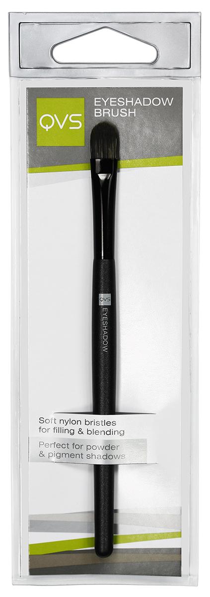 QVS Кисть для макияжа век из нейлоновых волокон10-1096Кисть для теней. Мягкая кисть для теней поможет быстро и равномерно нанести тени на веки или по контуру глаз и растушевать их. Закругленный кончик обеспечивает безупречно гладкое нанесение и прекрасно подходит для точечной коррекции макияжа. Способ применения: Окуните кисть в рассыпчатые или компактные тени, стряхните излишки. Наносите тени легкими движениями на всю поверхность век до достижения желаемого оттенка. Кисть идеально подходит для смешения и растушевки различных оттенков теней.