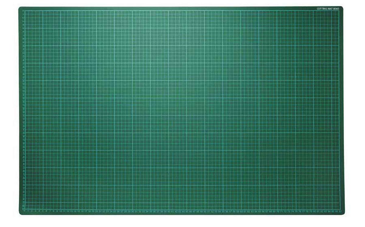 Коврик для резки Morn Sun, самовосcтанавливающийся, цвет: зеленый, 90 х 60 смMS-12111Плотная основа для резания из многослойного синтетического материала. Имеет разметку. Позволяет резать ножом мягко и безопасно. твердый промежуточный слой предотвращает прорезывание коврика,а благодаря специальному покрытию оставляемые на поверхности разрезы не видны. Используется для защиты мебельной поверхности.