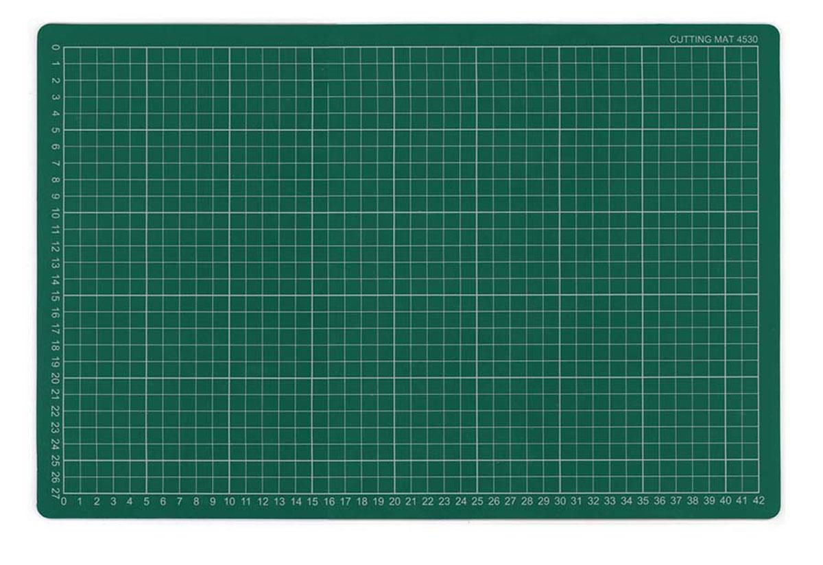 Коврик для резки Morn Sun, самовосcтанавливающийся, цвет: зеленый, 45 х 30 смMS-12113Плотная основа для резания из многослойного синтетического материала. Имеет разметку. Позволяет резать ножом мягко и безопасно. твердый промежуточный слой предотвращает прорезывание коврика,а благодаря специальному покрытию оставляемые на поверхности разрезы не видны. Используется для защиты мебельной поверхности.