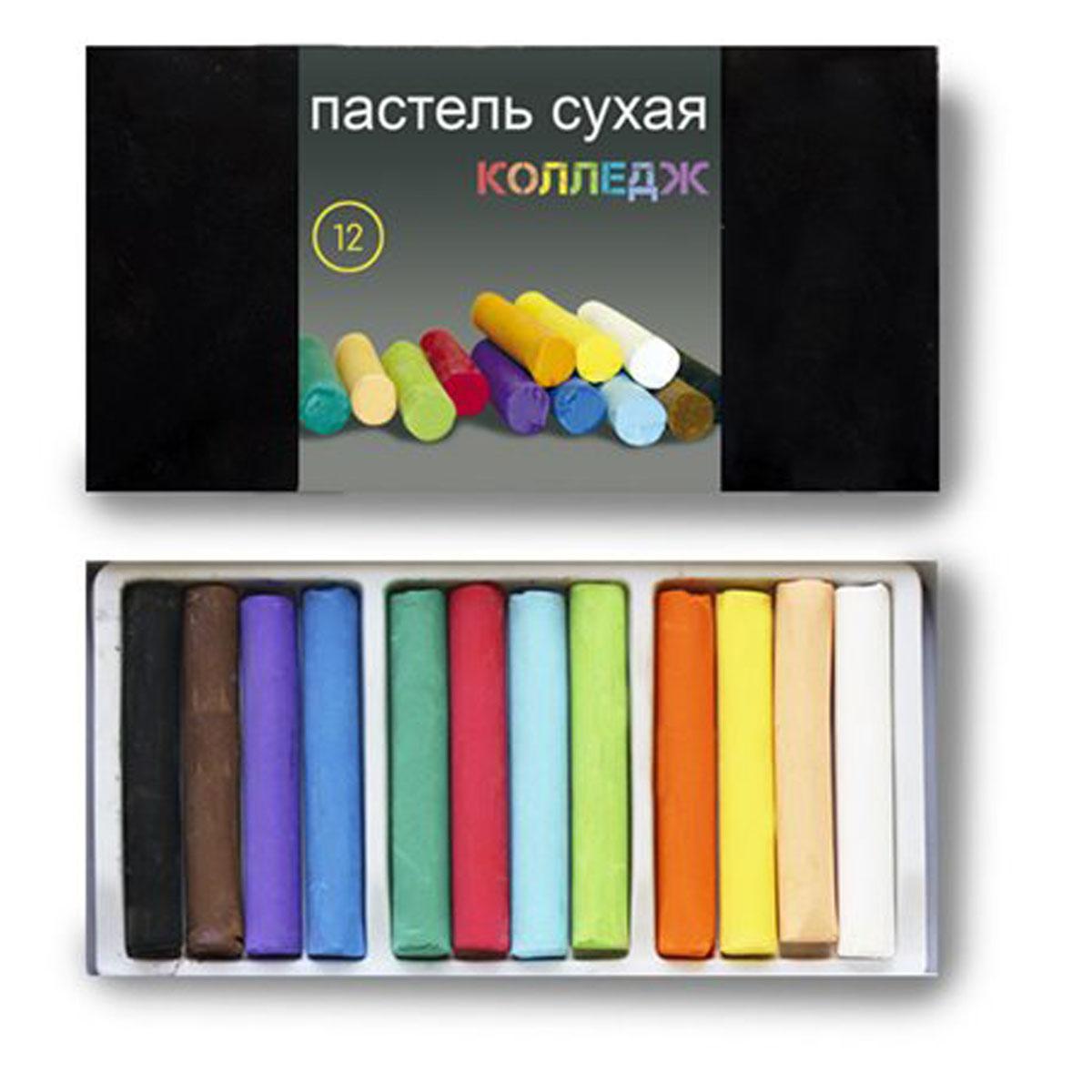 Пастель Черная речка, сухая, 12 цветовК-1181-012Высокачественная сухая пастель для школьников, студентов. Для живописных и графических работ (предпочтительно использование на шероховатых, фактурных поверхностях), может использоваться в смешанных техниках, в декупаже, на модельных массах.. Рисунок пастелью не выгорает, не темнеет, не тускнеет, не трескается от времени, но требует защиты от прикосновений- с помощью лака-фиксатива и стекла. В комплекте 12 цветов.