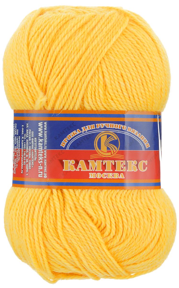 Пряжа для вязания Камтекс Соната, цвет: цыпленок (034), 250 м, 100 г, 10 шт136030_034Пряжа для вязания Камтекс Соната изготовлена из 50% шерсти, 50% акрила. Она вяжется легко и свободно. Ворсистая ниточка ровно складывается в полотно, которое имеет минимальный процент усадки. Из пряжи Соната прекрасно вяжутся теплые туники, жилеты, свитера и даже платья. Рекомендуемые для вязания спицы и крючки 3-5 мм. Состав: 50% шерсть, 50% акрил. Комплектация: 10 шт. Толщина нити: 2 мм.