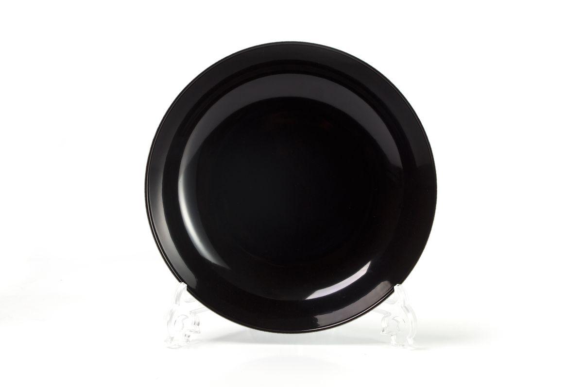 Тарелка глубокая La Rose des Sables Putoisage Noir, диаметр 23 см550221 3063Тарелка La Rose des Sables Putoisage Noir, изготовленная из высококачественного фарфора, имеет классическую круглую форму. Она прекрасно впишется в интерьер вашей кухни и станет достойным дополнением к кухонному инвентарю. Тарелка La Rose des Sables Putoisage Noir подчеркнет прекрасный вкус хозяйки и станет отличным подарком. Диаметр тарелки (по верхнему краю): 23 см.