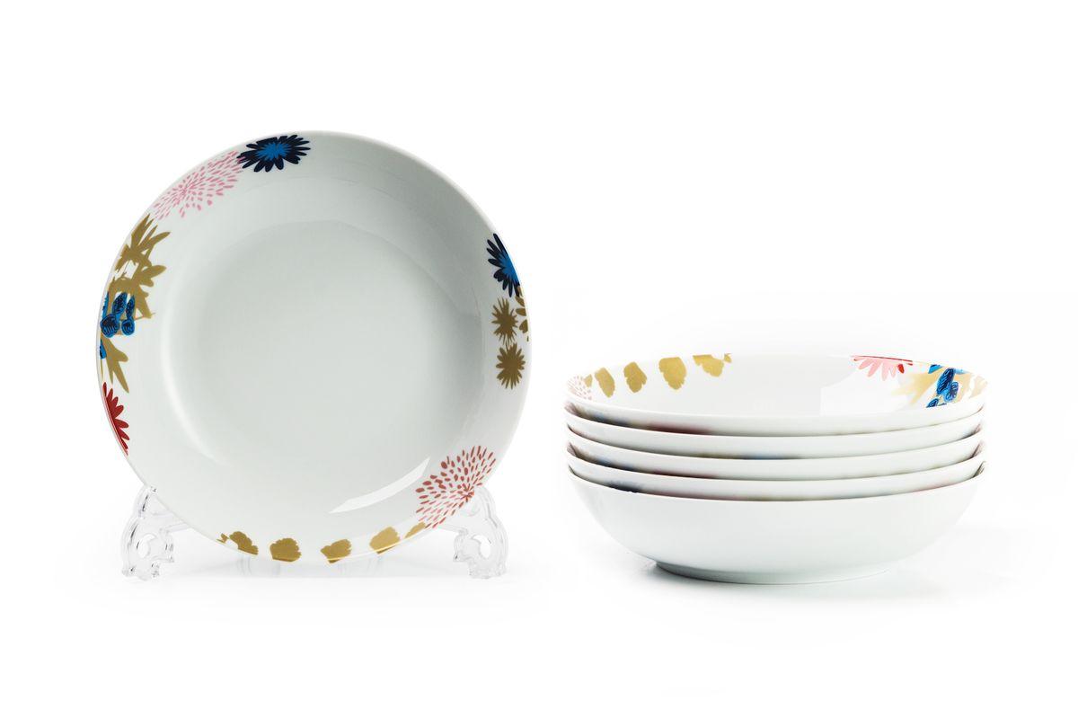 Набор глубоких тарелок La Rose des Sables Ilionor, диаметр 22 см, 6 шт559105 2227Можно использовать в СВЧ и посудомоечной машине.