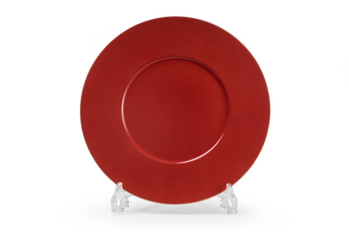Тарелка десертная La Rose des Sables Putoisage Rouge, диаметр 23 см830123 3067Можно использовать в СВЧ и посудомоечной машине.
