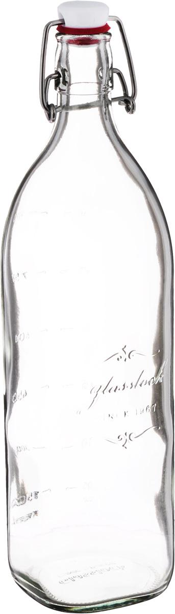 Бутылка для масла и соусов Glasslock, 1 лIP-632Бутылка Glasslock, выполненная из прочного стекла, предназначена для масла и соусов. Изделие оснащено плотно закрывающейся пластиковой крышкой с силиконовой накладкой. Благодаря крышке внутри сохраняется герметичность, и продукты дольше остаются свежими. На стенке имеется мерная шкала. Оригинальная бутылка для масла и уксуса будет отлично смотреться на вашей кухне. Можно мыть в посудомоечной машине, хранить в холодильнике и морозильной камере. Диаметр (по верхнему краю): 2,5 см. Размер основания: 7 х 7 см. Высота емкости (без учета крышки): 30,5 см.