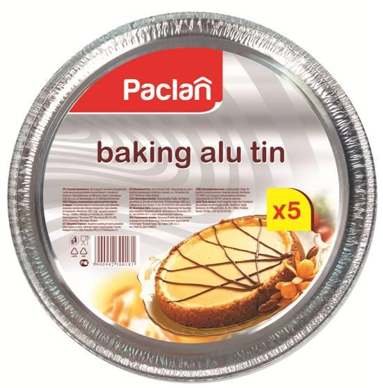 Форма для пиццы Paclan, диаметр 27 см, 5 шт135121/135120/300181Круглая форма для пиццы Paclan, изготовленная из алюминия, подходит также для выпечки тортов и пирогов. Обладает повышенной жаростойкостью, удобна и экономична в использовании. Диаметр формы: 27 см.