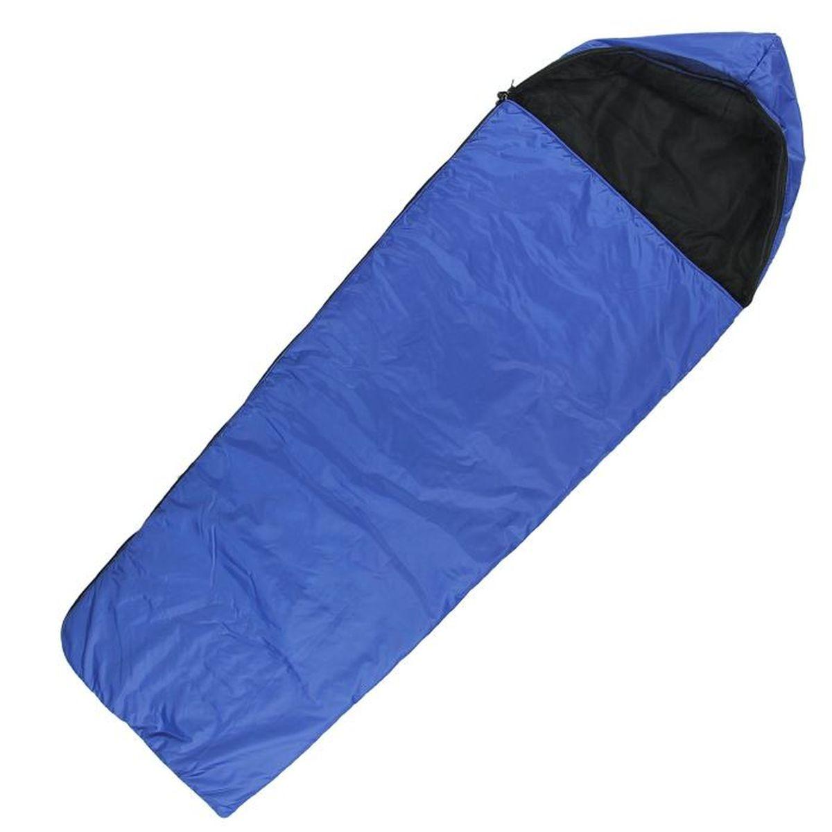Спальный мешок Onlitop Люкс, цвет: синий, правосторонняя молния1135989Комфортный, просторный и очень теплый 3-х сезонный спальник предназначен для походов и для отдыха на природе не только в летнее время, но и в прохладные дни весенне-осеннего периода. В теплое время спальный мешок можно использовать как одеяло (в том числе и дома).