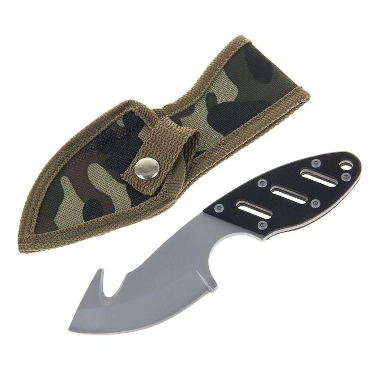 Нож туристический, с открывашкой, 3,5 х 0,5 х 16 см. 11541871154187Нож – неотъемлемый атрибут настоящего мужчины. Издревле ножи и клинки вручались знатным особам за проявление отваги и чести на военной службе. Такие подарки очень ценились и становились семейными реликвиями. Сегодня нож - это прекрасный подарок,который подойдет любому мужчине