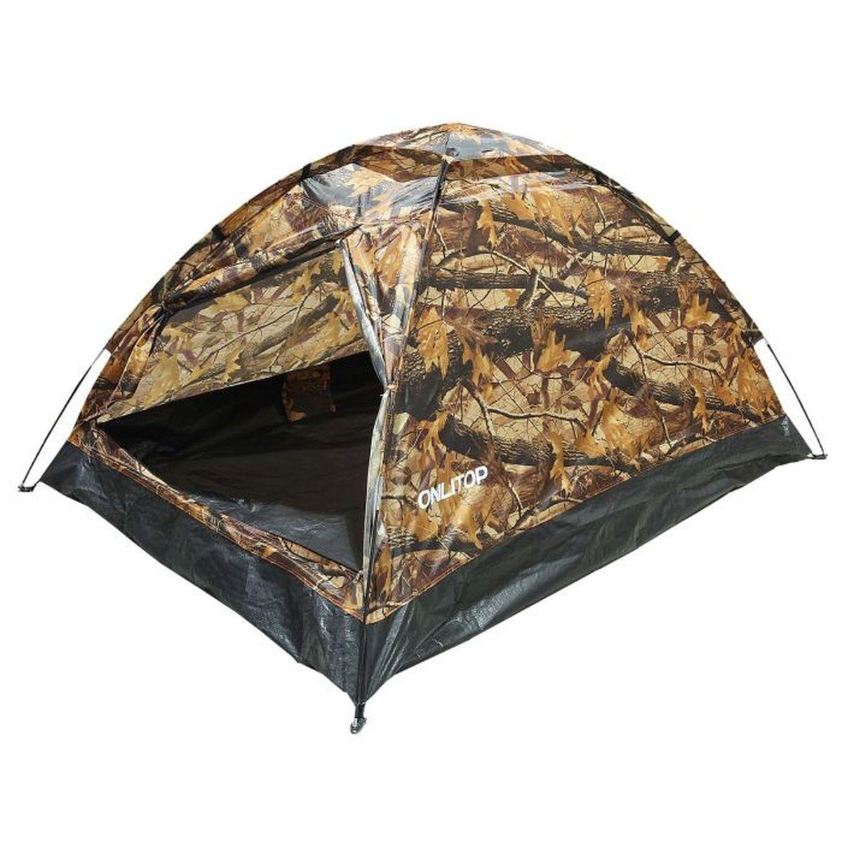 Палатка туристическая Onlitop SANDE II 2, цвет: хаки