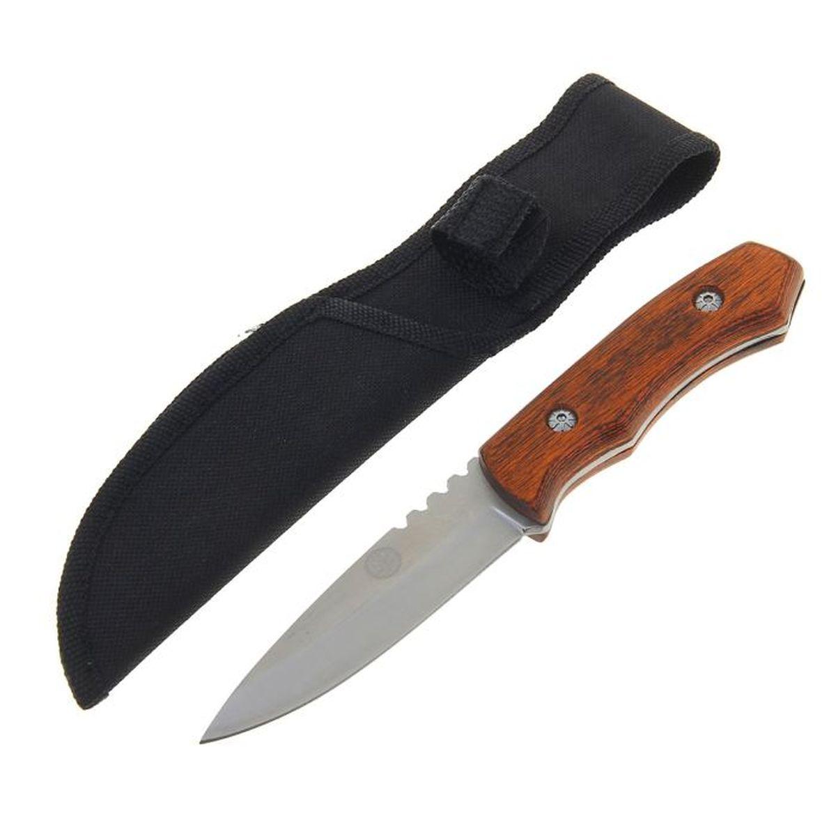 Нож разделочный, длина лезвия 9,8 см, длина рукояти 9,8 см. 12775821277582Нож разделочный, деревянная рукоять коричневая микс, д.л. 9,8 см, д.р. 9,8 см - уникальный товар, который не оставит вас равнодушным! Ведь это редкое сочетание достойного качества и приемлемой цены