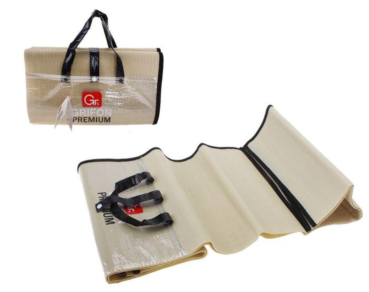 Коврик для барбекю GRIFON Premium, 1,5 х 1,5 м688995Туристический коврик является необходимым атрибутом любого туристического похода, выездов за город, рыбалки. Легкий коврик предназначен для сохранения тепла, комфортного сна и предохранения спального мешка от различных повреждений и влаги.