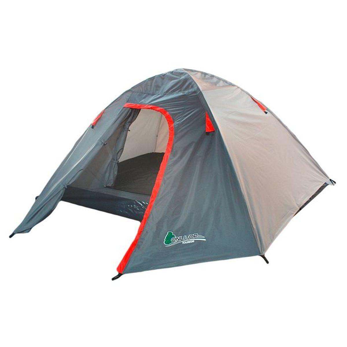 Палатка туристическая Onlitop MALI 3, цвет: серый776288Если вы заядлый турист или просто любитель природы, вы хоть раз задумывались о ночёвке на свежем воздухе. Чтобы провести её с комфортом, вам понадобится отличная палатка, Она обеспечит безопасный досуг и защитит от непогоды и насекомых. Ткань рипстоп гарантирует длительную эксплуатацию палатки за счёт высокой прочности материала.