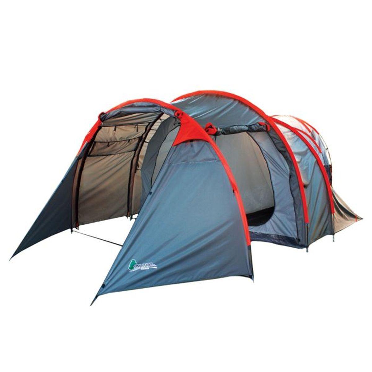 Палатка туристическая Onlitop VOYAGER 4, цвет: серый867029Если вы заядлый турист или просто любитель природы, вы хоть раз задумывались о ночёвке на свежем воздухе. Чтобы провести её с комфортом, вам понадобится отличная палатка, Она обеспечит безопасный досуг и защитит от непогоды и насекомых. Ткань рипстоп гарантирует длительную эксплуатацию палатки за счёт высокой прочности материала.