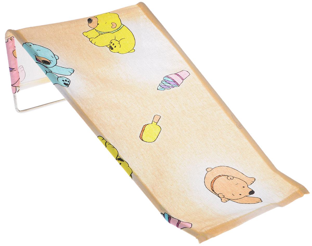 Фея Подставка для купания Мишки цвет бежевый