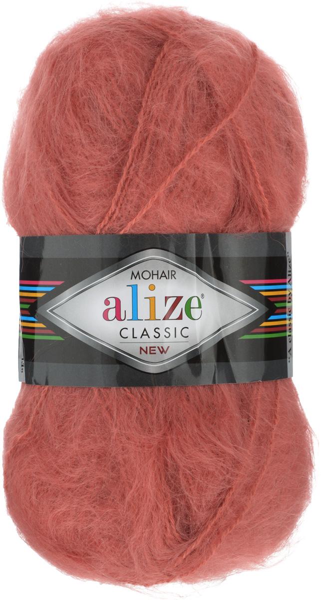 Пряжа для вязания Alize Mohair Classik New, цвет: светло-красный (154), 200 м, 100 г, 5 шт582105_154Классическая мохеровая пряжа Alize Mohair Classik New для ручного вязания, тонкая, мягкая, деликатная нить, хорошо скрученная. Послушная нить, которая отлично подходит для опытных вязальщиц и для начинающих рукодельниц. Легкая и гибкая пряжа с акрилом, придающим готовым вещам практичность. Благодаря пушистому мохеру можно использовать самый простой узор и при этом изделие будет выглядеть великолепно. Высококачественная пряжа, равномерно окрашенная, не линяет. Мягкая, теплая нить прекрасно подходит для взрослой и детской зимней одежды. Пушистость пряжи в изделии без сложных узлов даже с ровной вязкой будет придавать одежде особый шарм. Состав: 25% мохер, 24% шерсть, 51% акрил. Рекомендованные спицы № 5-7, крючок № 2-4.