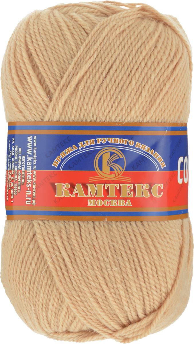 Пряжа для вязания Камтекс Соната, цвет: светло-бежевый (006), 250 м, 100 г, 10 шт136030_006Пряжа для вязания Камтекс Соната изготовлена из 50% шерсти, 50% акрила. Она вяжется легко и свободно, имеет богатую цветовую гамму от теплых пастельных тонов до ярких и смелых оттенков. Ворсистая ниточка ровно складывается в полотно, которое имеет минимальный процент усадки. Из пряжи Соната прекрасно вяжутся теплые туники, жилеты, свитера, платья и многие другие изделия. Рекомендуемые для вязания спицы и крючки 3-5 мм. Состав: 50% шерсть, 50% акрил. Комплектация: 10 шт. Толщина нити: 2 мм.