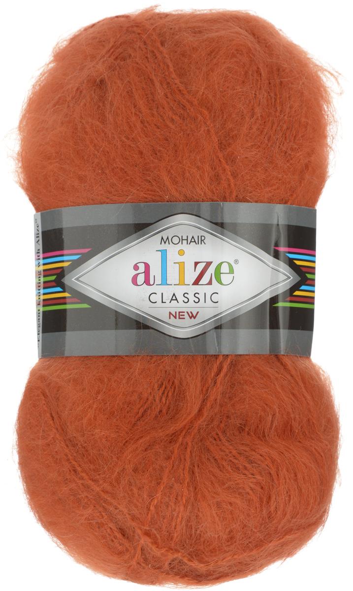 Пряжа для вязания Alize Mohair Classik New, цвет: рыжий (120), 200 м, 100 г, 5 шт582105_120Классическая мохеровая пряжа Alize Mohair Classik New для ручного вязания, тонкая, мягкая, деликатная нить, хорошо скрученная. Послушная нить, которая отлично подходит для опытных вязальщиц и для начинающих рукодельниц. Легкая и гибкая пряжа с акрилом, придающим готовым вещам практичность. Благодаря пушистому мохеру можно использовать самый простой узор и при этом изделие будет выглядеть великолепно. Высококачественная пряжа, равномерно окрашенная, не линяет. Мягкая, теплая нить прекрасно подходит для взрослой и детской зимней одежды. Пушистость пряжи в изделии без сложных узлов даже с ровной вязкой будет придавать одежде особый шарм. Состав: 25% мохер, 24% шерсть, 51% акрил. Рекомендованные спицы № 5-7, крючок № 2-4.