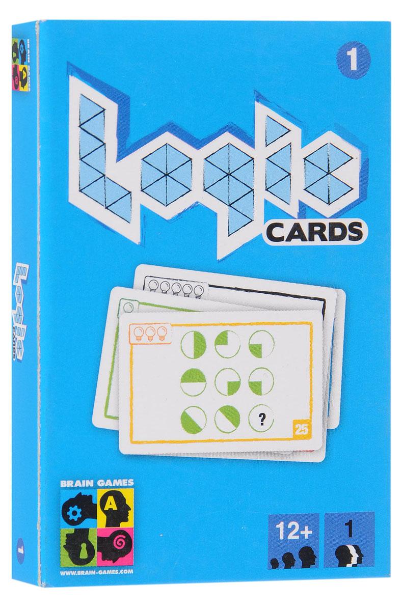 Brain Games Настольная игра Логические карточки 14751010195052Может ли сборник логических задач уместиться в кармане? Конечно! Настольная игра Brain Games Логические карточки 1 - это 53 задания на логику на отдельных карточках. Задачи разделены на пять уровней сложности - попробуйте решить их все! А если все задания решены, то вас ждёт ещё один набор - Логические карточки 2. Состав игры: 53 карты с заданиями на логику, листок-вкладыш с правилами и ответами.