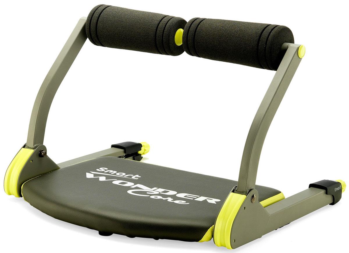 Тренажер для фитнеса Sport Elit Wonder Core SmartWonder Core SmartТренажер для фитнеса Sport Elit Wonder Core Smart позволяет выполнять 6 различных упражнений, укрепить сердечно-сосудистую систему/мышечный тонус, что в свою очередь улучшает общее физическое состояние и повышает способность организма к быстрому сжиганию калорий. При помощи тренажера вы сможете выполнять не только упражнения, направленные на укрепление брюшного пресса, но и поддерживать мышечный тонус рук и ног, поскольку тренажер позволяет выполнять: -Упражнения для пресса -Упражнения для ног -Упражнения для бицепсов и трицепсов -Упражнения для голеней -Упражнения для спины -Отжимания Секрет Sport Elit Wonder Core Smart заключается в его мощном сопротивлении, которое позволяет вам работать в обоих направлениях при каждом движении и с каждым шагом – именно это условие является гарантией получения максимальной пользы от каждой тренировки, причем у вас есть уверенность в том, что вы не потратили ваши усилия или время впустую. ...