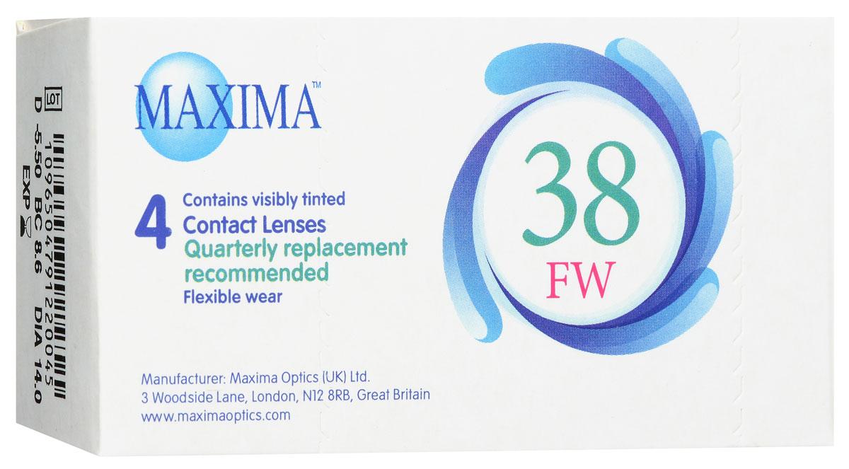 Maxima контактные линзы 38 FW (4 шт / 8.6 / -5.50)
