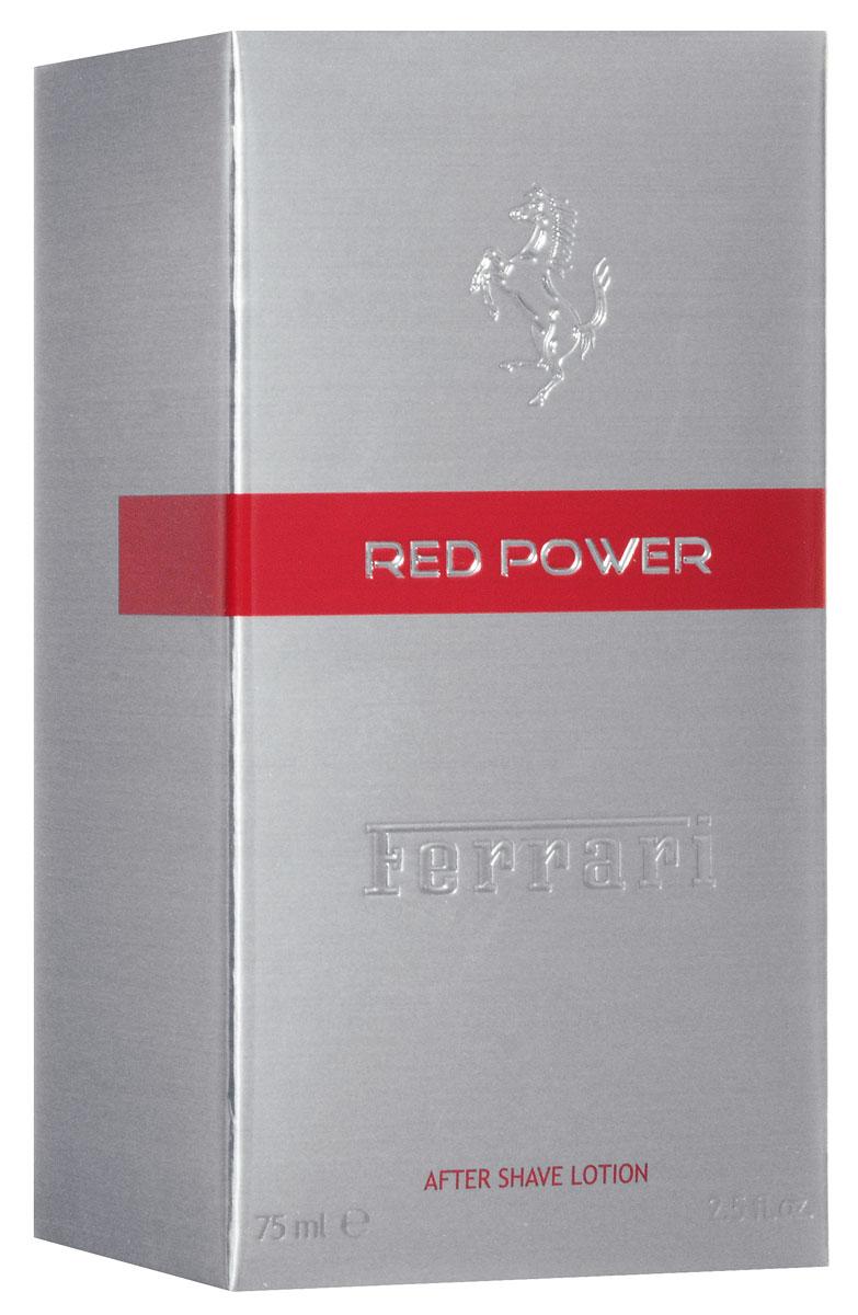 Ferrari Лосьон после бритья RED POWER, 75 мл67000066Red Power Ferrari - это аромат для мужчин, принадлежит к группе ароматов фужерные. Red Power выпущен в 2012. Парфюмер: Alexandra Carlin. Верхние ноты: Бергамот, красный апельсин, Лаванда и Розовый перец; ноты сердца: Герань, Розмарин, кардамон и Лист фиалки; ноты базы: Мускус, пачули, Белый кедр и Тонка бобы.