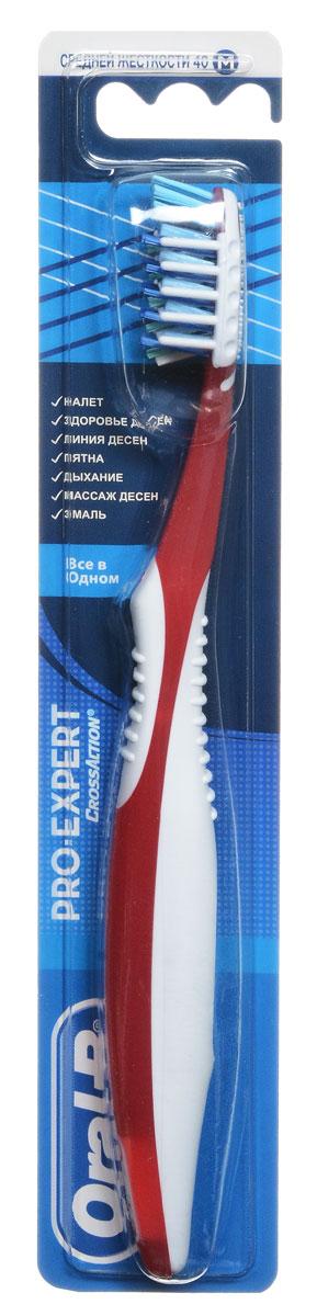 Oral-B Зубная щетка Pro-Expert. Все в одном, средняя жесткость, цвет: красныйORL-75062033_красный