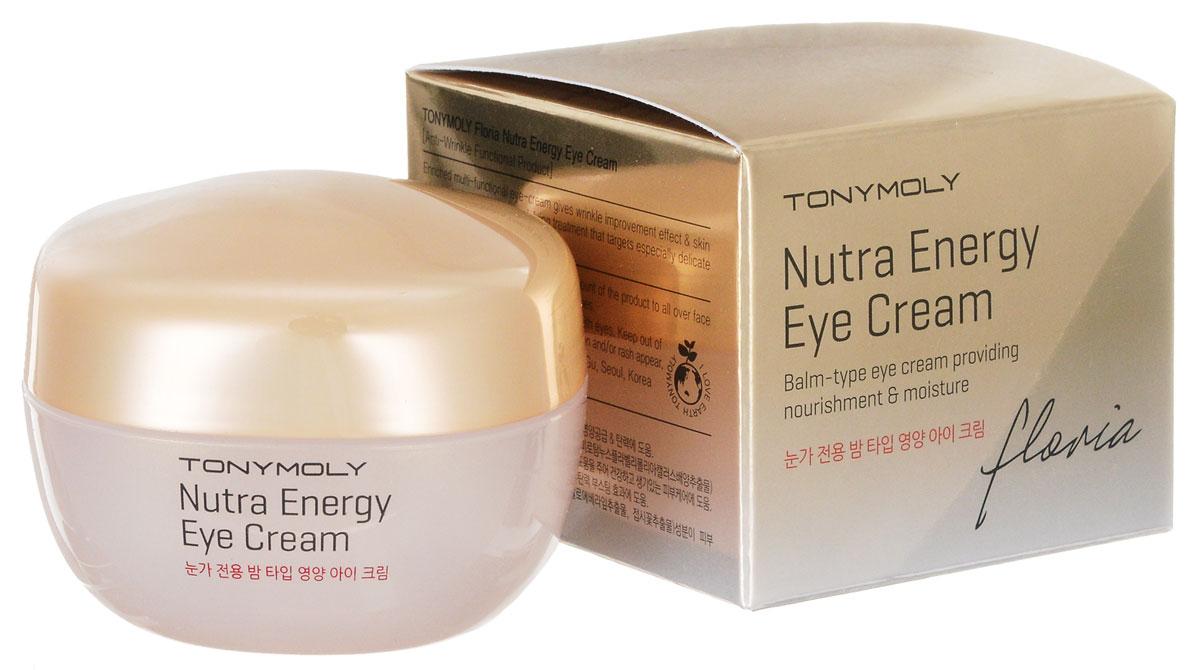TonyMoly Крем для кожи вокруг глаз FLORIA NUTRA Energy-EYECREAM, 30 млSB05006500TonyMoly Крем для кожи вокруг глаз FLORIA NUTRA Energy-EYECREAM30 мл