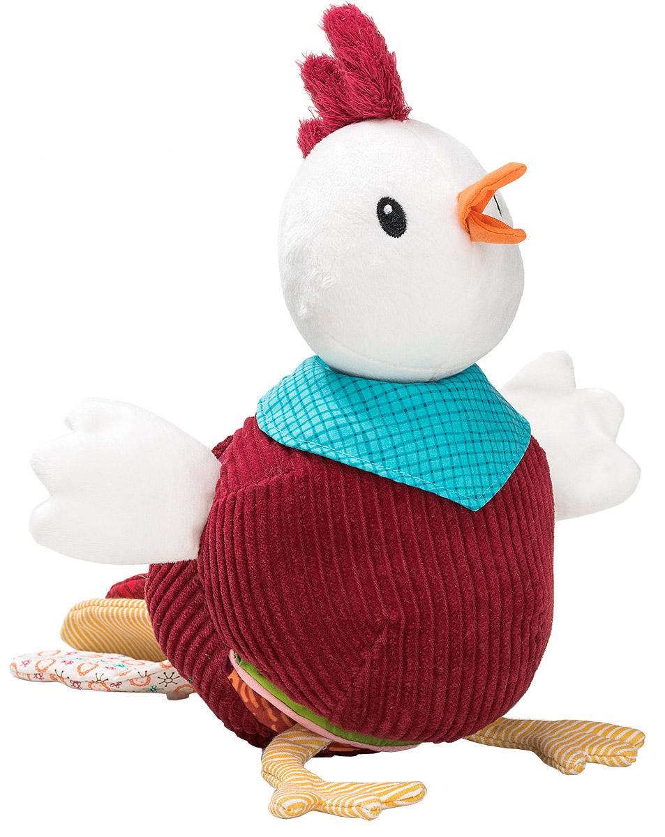 Lilliputiens Книжка-игрушка Петушок Джон86760Книжка-игрушка Lilliputiens Петушок Джон предназначена для детишек от 6 месяцев. Ее можно исследовать снова и снова. Она выполнена в виде симпатичного петушка, раскрыв животик которого можно обнаружить множество сюрпризов. На мягких страничках книжки встречаются самые различные лесные персонажи. Здесь и хитрая лисичка, и смешной кролик в норке с морковками, и гнездо с маленькими цыплятами. Объемные вышитые элементы можно трогать, открывать и закрывать, изучать, погружаясь в удивительный мир сказочных животных. На одной из страничек имеется даже маленькое зеркальце. Ребенок может изучать книжку самостоятельно или с родителями. Ему можно рассказывать короткие истории или вместе разыгрывать короткие сценки. Игрушка выполнена из безопасных гипоаллергенных материалов. Яркие цвета и различная текстура элементов надолго привлекут внимание малютки. Книжка-игрушка Lilliputiens Петушок Джон развивает мелкую моторику, координацию движений, цветовое...
