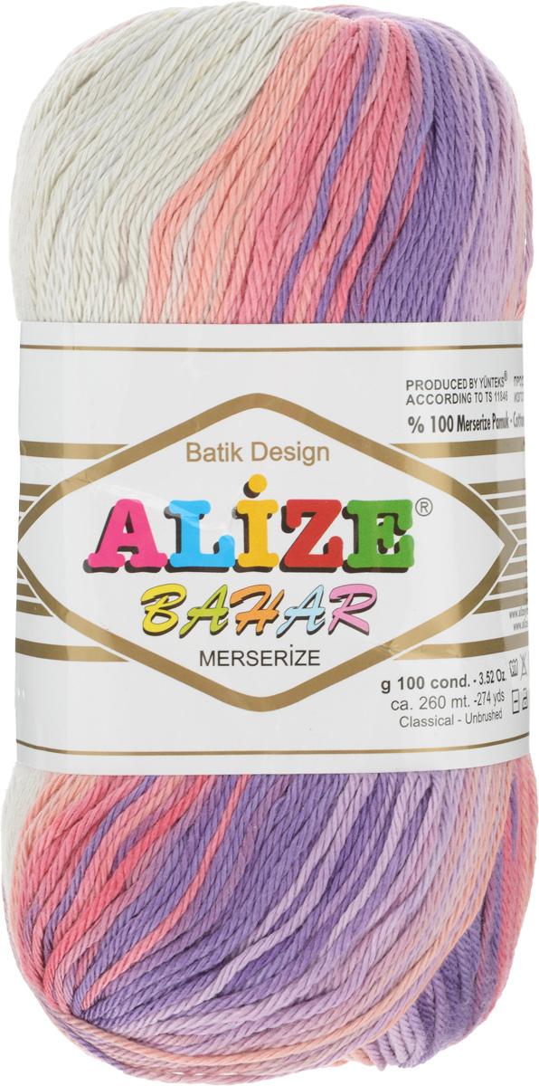 Пряжа для вязания Alize Bahar Batik, цвет: бежевый, фиолетовый, розовый (4520), 260 м, 100 г, 5 шт364090_4520Пряжа Alize Bahar Batik подходит для ручного вязания детям и взрослым. Пряжа секционного крашения, мягкая и приятная на ощупь, хорошо лежит в полотне. Мягкая и красивая нить в процессе вязания превращается в оригинальный узор. Рекомендованные спицы 3-5 мм и крючок для вязания 2-4 мм. Комплектация: 5 мотков. Состав: 100% хлопок.