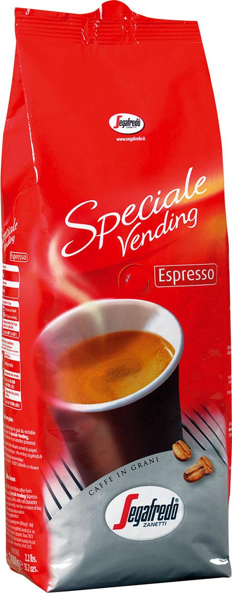 Segafredo Vending Espresso кофе в зернах, 1 кг5900420097053Segafredo Vending Espresso - кофе, разработанный специально для вендингового оборудования и автоматических кофемашин. Традиционный итальянский насыщенный кофе, с интенсивным вкусом и сильным характером.