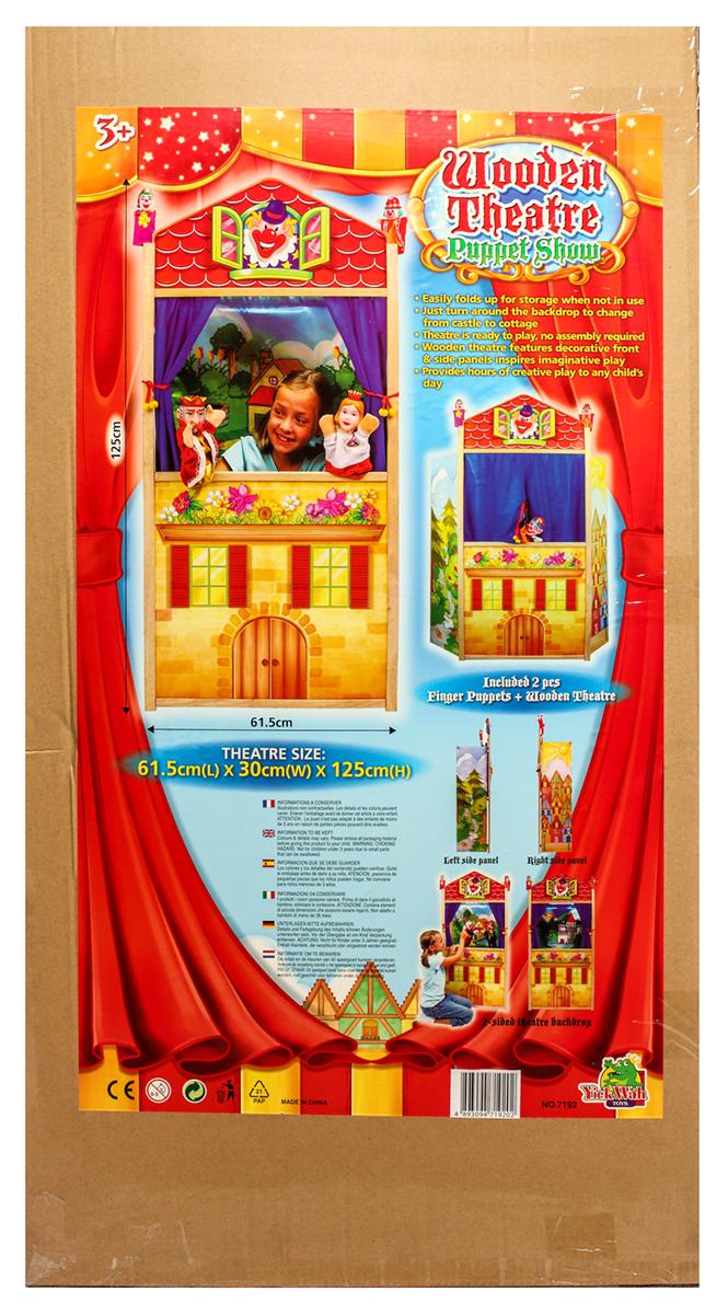 Yick Wah Ширма для кукольного театра7192Красочная,яркая ширма для театральных постановок,реализации творческих талантов малышей.Полезна для развлечений всей семьей.