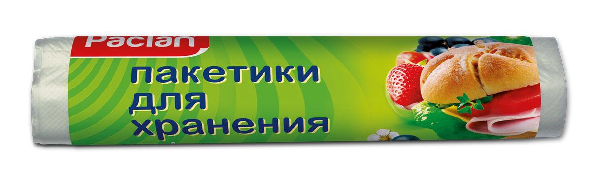 Пакеты фасовочные Paclan, 24 х 36 см, 100 шт404052/404051/404050/40404Фасовочные пакеты, изготовленные из ПНД (полиэтилена низкого давления), обладают высокой эластичностью и лучше всего подходят для формирования временной упаковки. Чаще всего они используются в магазинах розничной торговли для упаковки пищевых продуктов.