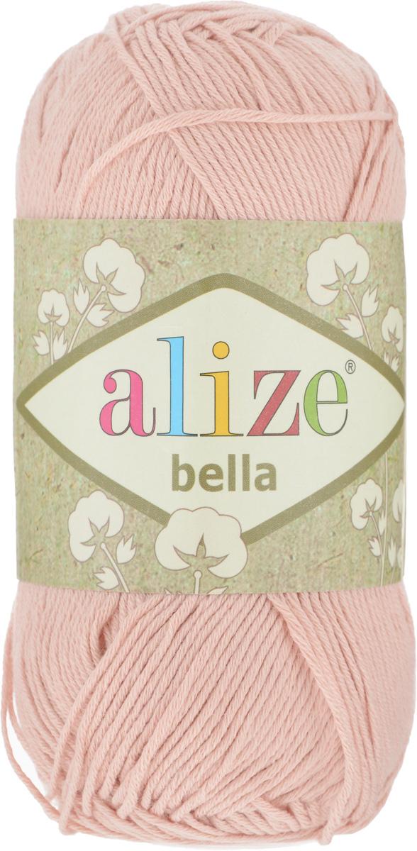 Пряжа для вязания Alize Bella, цвет: телесный (613), 180 м, 50 г, 5 шт364124_613Мягкая хлопковая пряжа Alize Bella просто идеальна для вязания вещей малышам и людям с чувствительной кожей. Нить не вызывает аллергии и очень приятна на ощупь. Изделия из такой нити получаются мягкие и красивые. Рекомендуемый размер спиц 2-4 мм и крючка 1-3 мм.