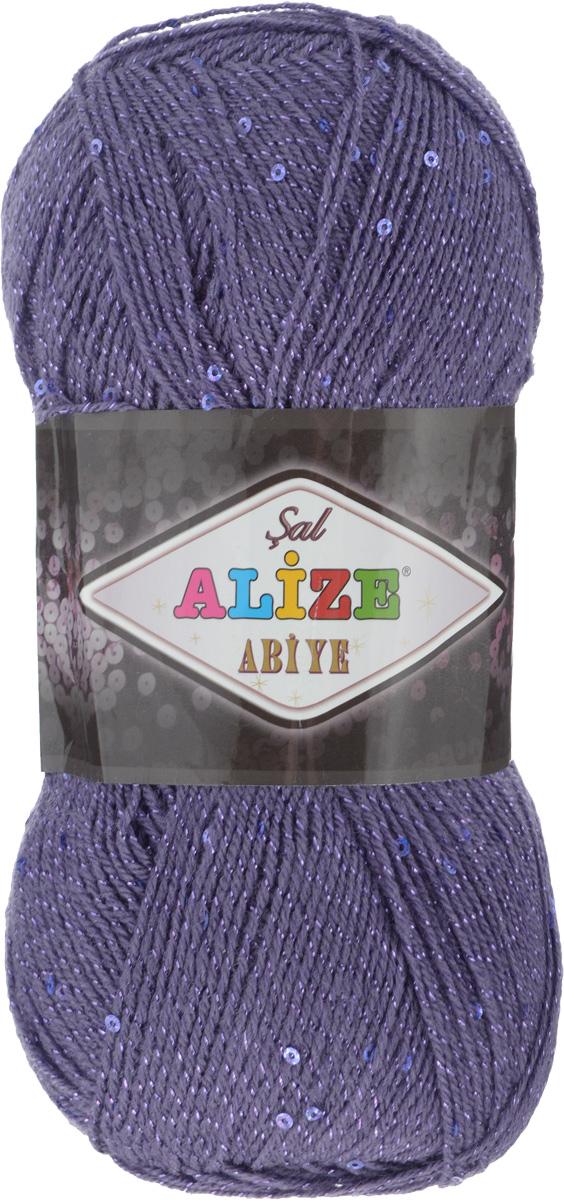 Пряжа для вязания Alize Sal Abiye, цвет: темно-фиолетовый (84), 410 м, 100 г, 5 шт372113_84Пряжа Alize Sal Abiye - это фантазийная акриловая пряжа с добавлением в тон нити пайеток и металлика. Такая нарядная пряжа подходит для вязания элегантных вечерних нарядов, сумочек, кошельков, украшений и прочего. Рекомендованный размер спиц: № 2-4 мм, Рекомендованный размер крючка: № 1-4 мм. Состав: 80% акрил, 10% полиэстер, 5% пайетки, 5% металлизированная нить.