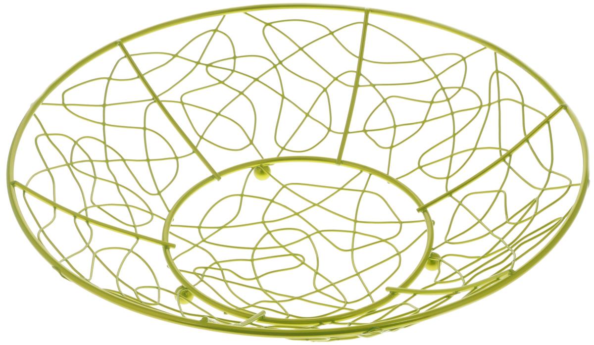 Фруктовница Guterwahl, диаметр 32 смYSH-9-005Оригинальная фруктовница Guterwahl, изготовленная из нержавеющей стали, идеально подходит для хранения и красивой сервировки любых фруктов. Современный дизайн фруктовницы идеально впишется в интерьер вашей кухни. Изделие рекомендуется мыть вручную с применением любых неабразивных моющих средств. Не рекомендуется использование металлических щеток для чистки. Диаметр (по верхнему краю): 32 см. Высота: 7,5 см.