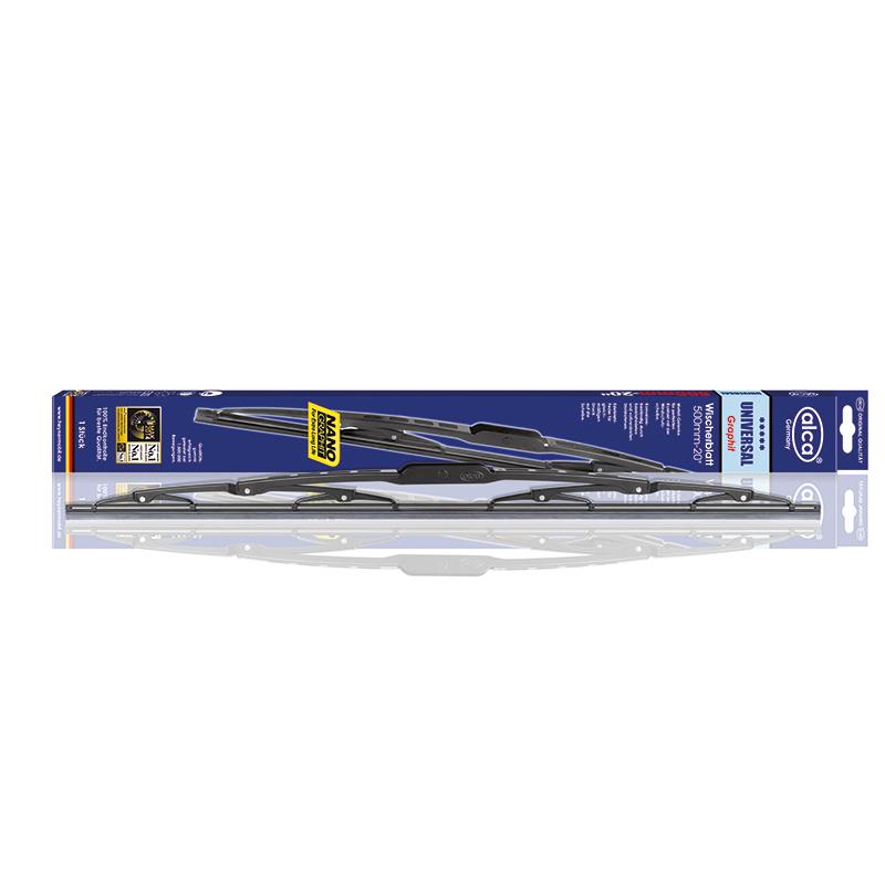 Щетка стеклоочистителя Alca, универсальная, 20/50 см180000щетка с/о 20/50см универсальная , для легковых машин и микроавтобусов. Оцинкованный сплошной каркас. Набор адаптеров в комплекте. Резина из 100% натурального каучука.