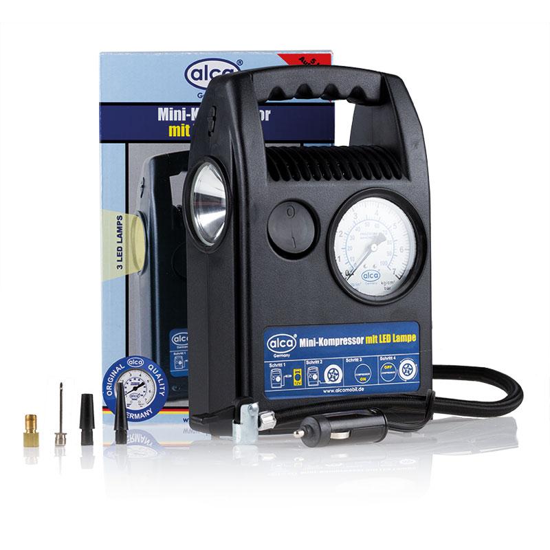 Автомобильный мини компрессор