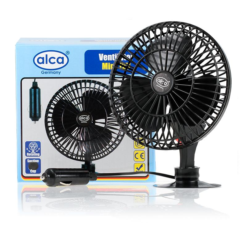 Автовентилятор вращающийся Alca, на присоске, 12 В524000Компактный и мощный автомобильный вентилятор Alca выполнен из высококачественного прочного пластика. Вентилятор оснащен присоской, при помощи которой его можно закрепить на стекле автомобиля. Функция вращения обеспечивает максимальный комфорт водителю и пассажирам. Автомобильный вентилятор Alca подарит прохладу и станет отличным спасением в жаркий летний зной для вас и ваших близких. Напряжение: 12 В.