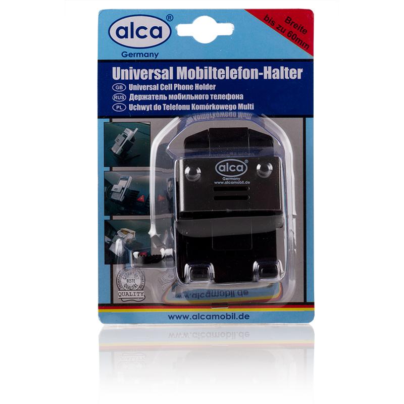 Держатель сотового телефона Alca528200Держатель сотового телефона, раздвигается до 60 мм.