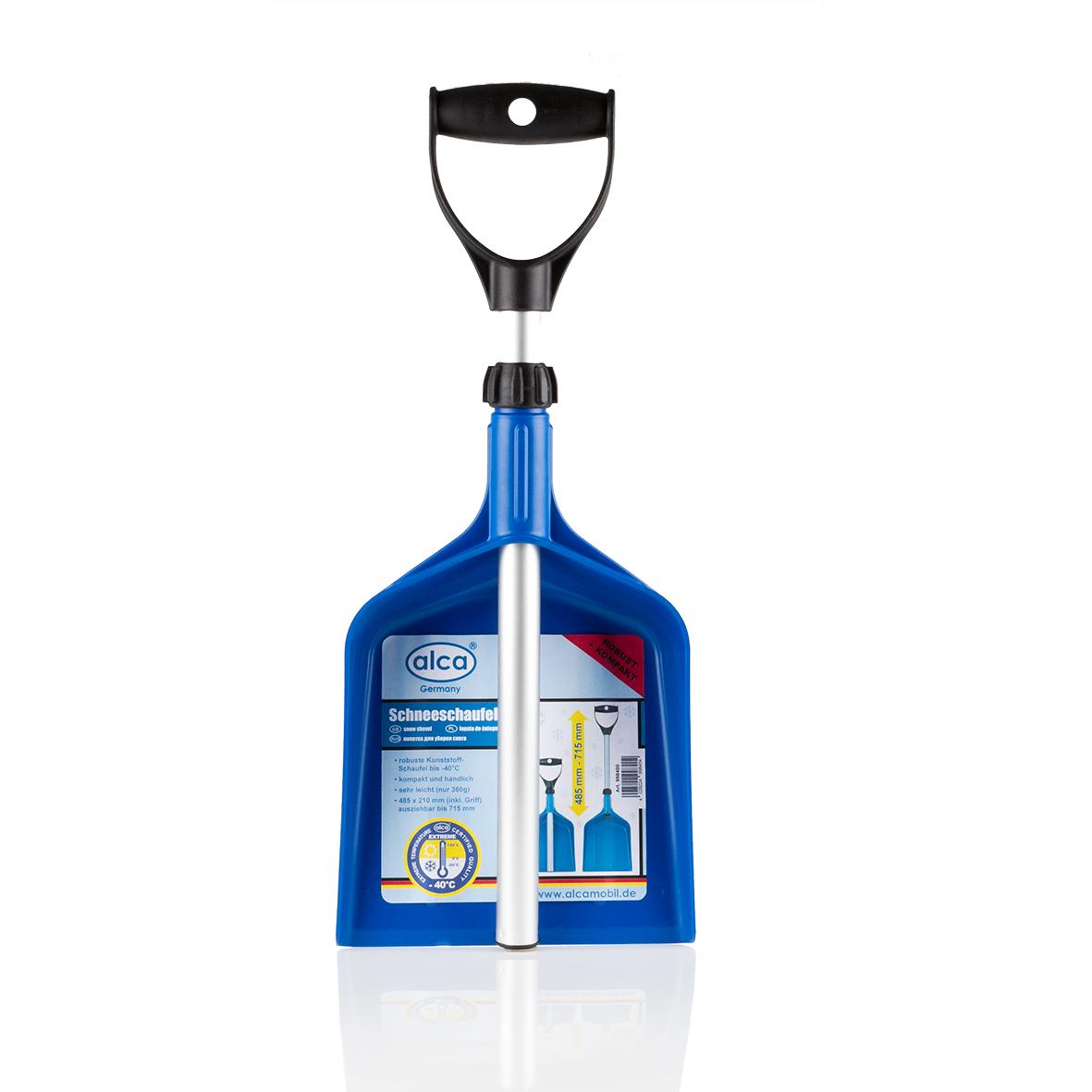 Лопата для уборки снега Alca, складная, длина 48,5-71,5 см998400Лопата для уборки снега Alca имеет легкий вес и возможность использования при температуре до -40°С. Лопата складная, поэтому ее удобно хранить в багажнике автомобиля. Такая лопата поможет быстро очистить снег. Выполнена из прочных материалов, отличается износоустойчивостью и долгим сроком службы. Размер в сложенном виде: 48,5 х 21 см. Размер в разложенном виде: 71,5 х 21 см.